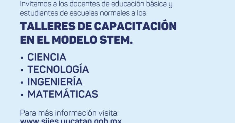 Talleres de capacitación docente en el modelo STEM